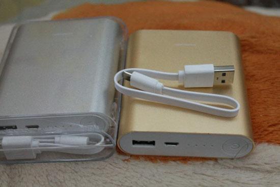 Pin sạc dự phòng XiaoMi Power Bank 10400 mah