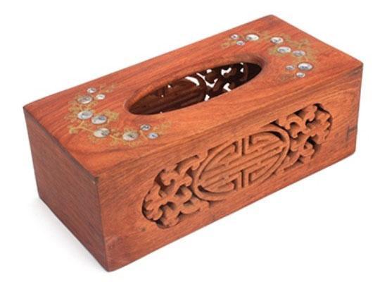 bán buôn hộp đựng giấy ăn bằng gỗ sang trọng