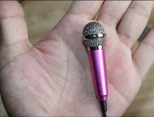 Micro mini hát và ghi âm cho Smart Phone