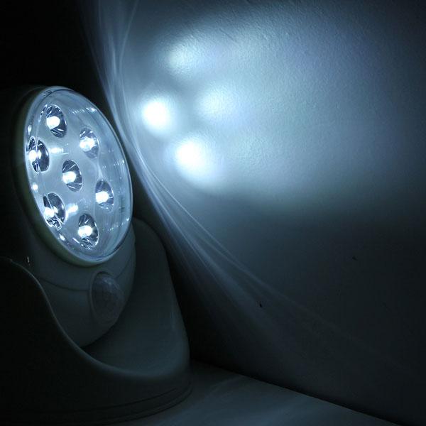 Đèn led cảm ứng xoay 360 độ giá rẻ
