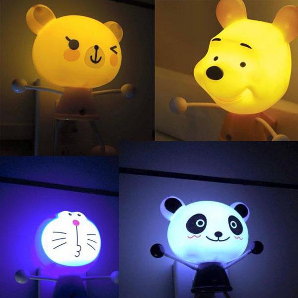 Bán sỉ đèn ngủ cảm ứng hình thú giá rẻ