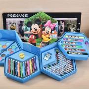 Bán buôn hộp bút chì màu 4 tầng 46 món cho bé
