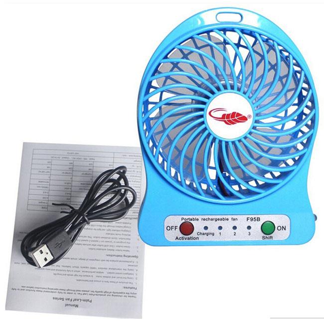 Bán buôn quạt tích điện mini usb fan