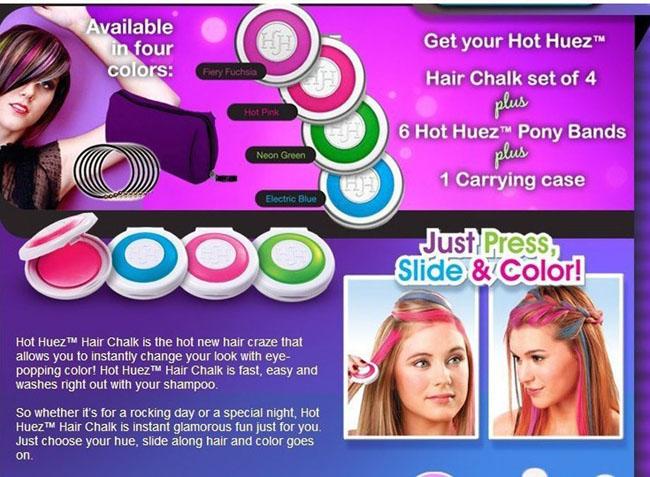 Bán sỉ Phấn nhuộm tóc Hot Huez