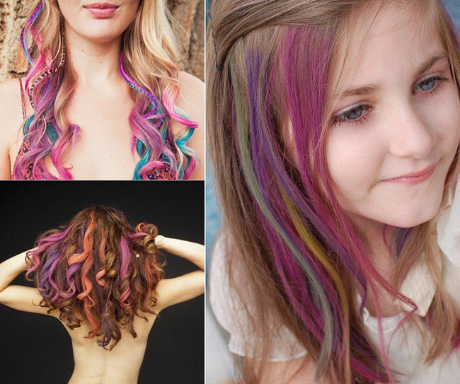 Bán buôn bộ phấn nhuộm tóc 4 màu hot huez