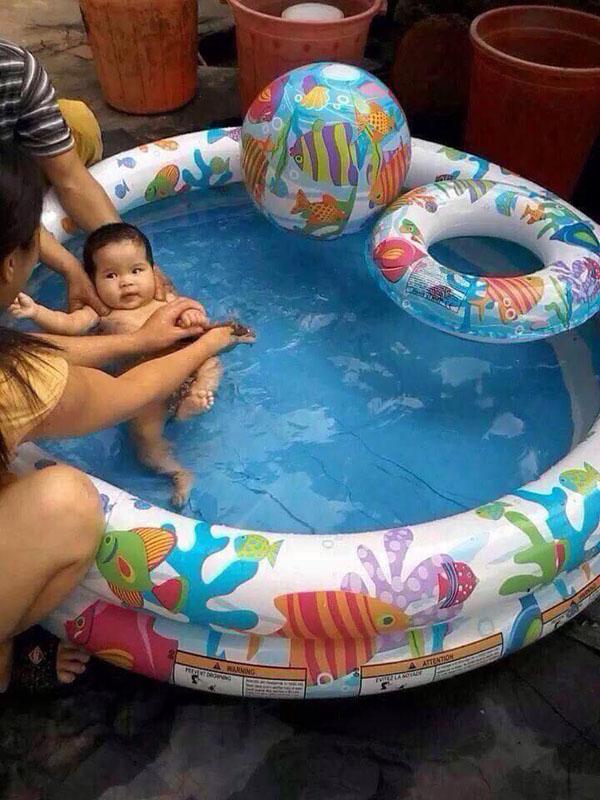 Bể bơi phao 3 tầng 3 chi tiết Intex 59469 giá rẻ