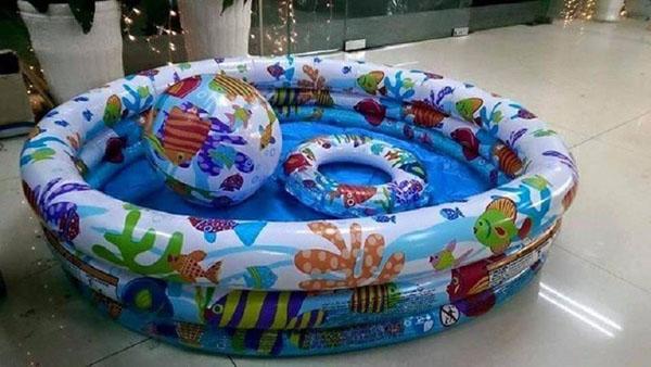 Bán buôn bể bơi phao Intex 59469 cho bé