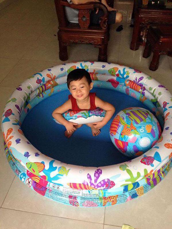 Bán sỉ bể bơi phao 3 tầng 3 chi tiết Intex 59469
