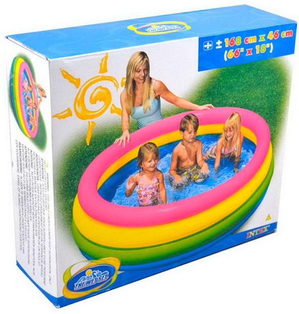Bán sỉ bể bơi phao 4 tầng Intex 56441 cho bé