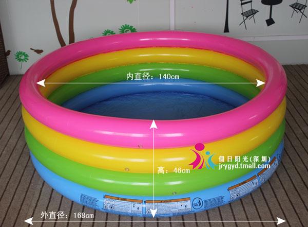 Bán buôn bể bơi phao 4 tầng Intex 56441 cho bé