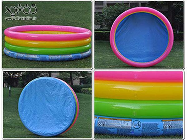 Bán sỉ bể bơi phao 4 tầng Intex 56441