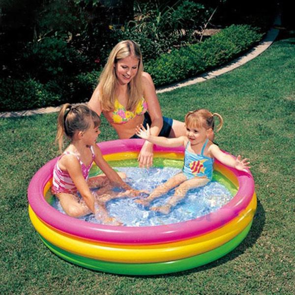 Bán buôn bể bơi phao 4 tầng Intex 56441