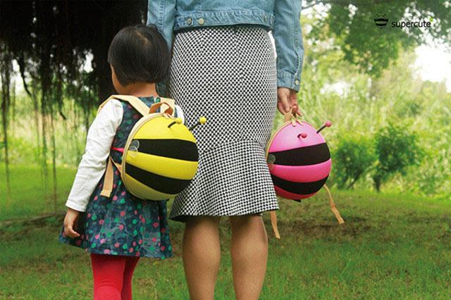 Balo hình con ong cho bé