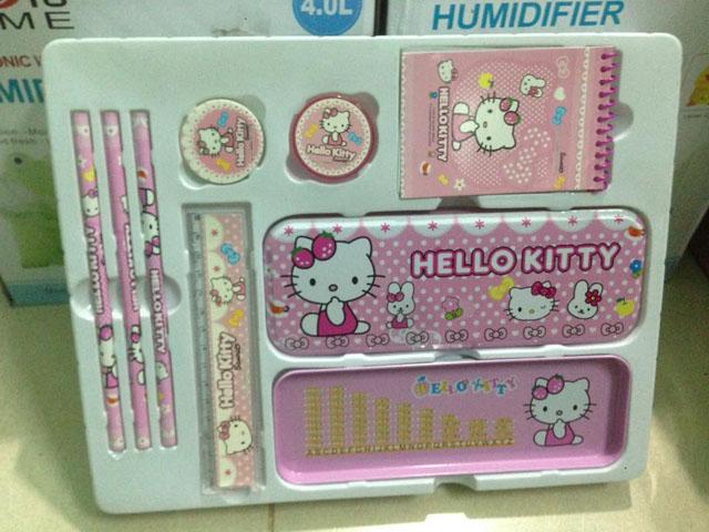 Bán sỉ bộ đồ dùng học tập Hello kitty