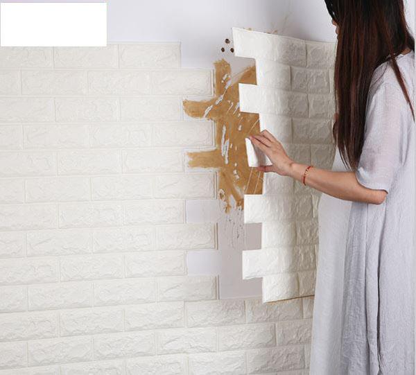 Bán sỉ giấy dán tường cách âm 3d giá rẻ