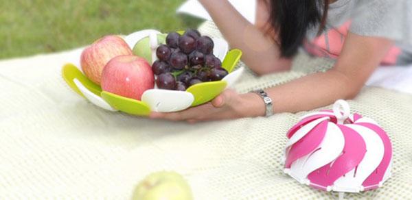 Bán sỉ đĩa đựng hoa quả gấp gọn