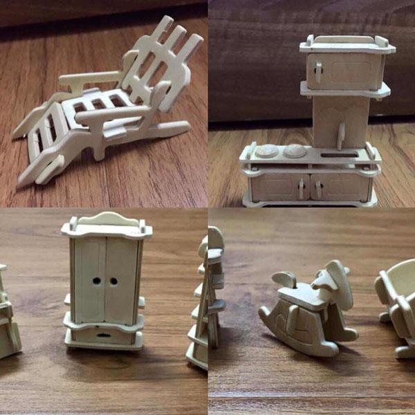 Bán buôn đồ chơi ghép hình bằng gỗ 184 chi tiết