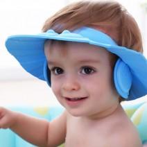 Mũ chắn nước có vành che tai cho bé