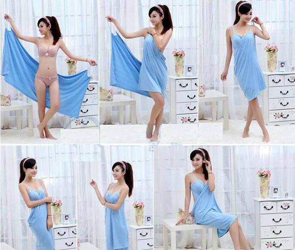 Bán buôn khăn tắm đi biển đa năng