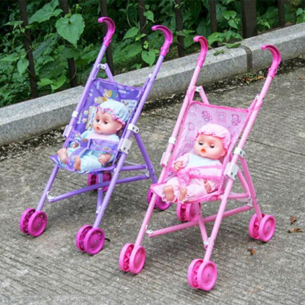 Bán buôn đồ chơi xe đẩy búp bê cho bé