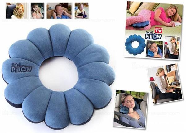 Gối tựa lưng Total Pillow 5 trong 1