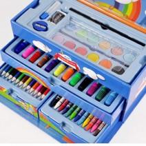 Bán sỉ hộp bút chì màu 3 tầng 4 ngăn cho bé