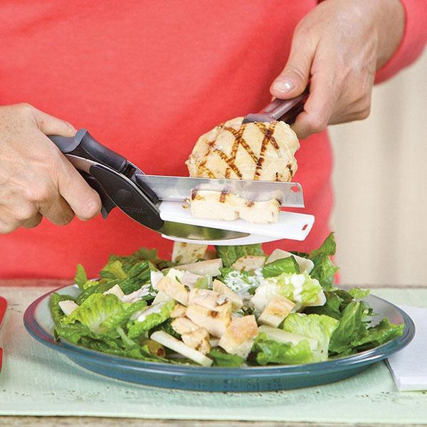 Kéo thông minh thay thế dao và thớt Clever Cutter