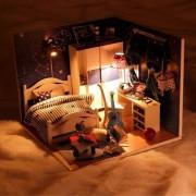 Bán sỉ mô hình nhà gỗ cute room cho bé