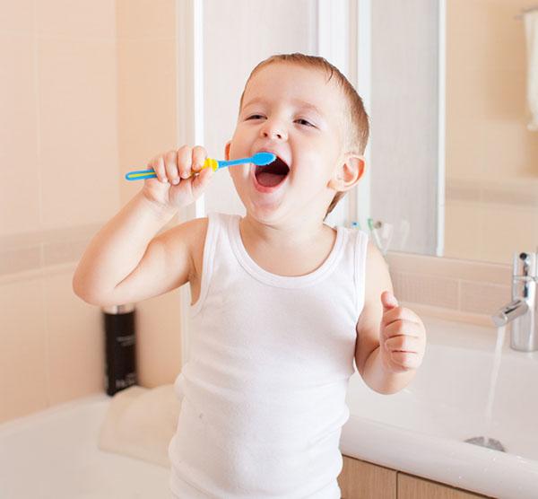 Bàn chải đánh răng tự động hình thú cho bé