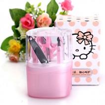 Bộ kềm cắt móng 9 món Hello Kitty tiện dụng