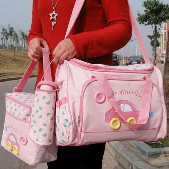Bán sỉ bộ túi xách 4 chi tiết cho mẹ và bé