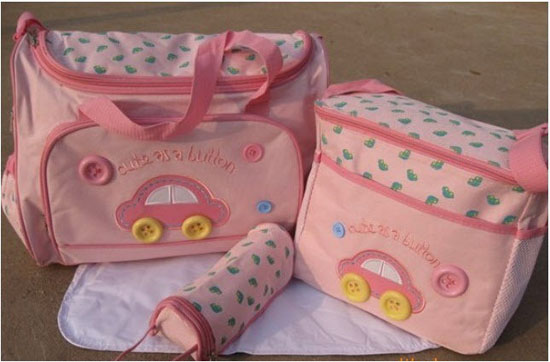 Bán buôn bộ túi xách 4 chi tiết cho mẹ và bé