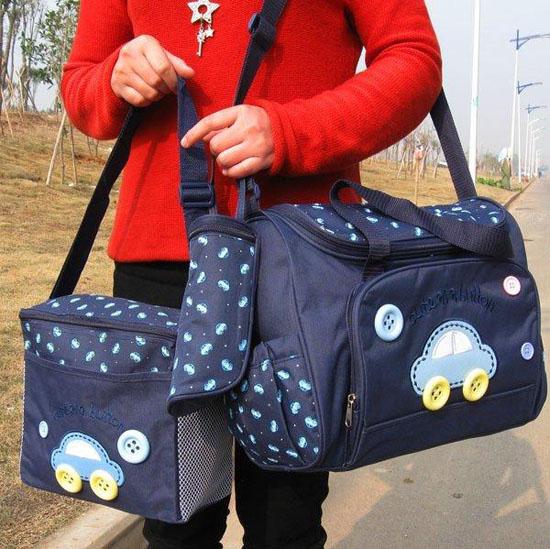 Bộ túi xách 4 chi tiết cho mẹ và bé