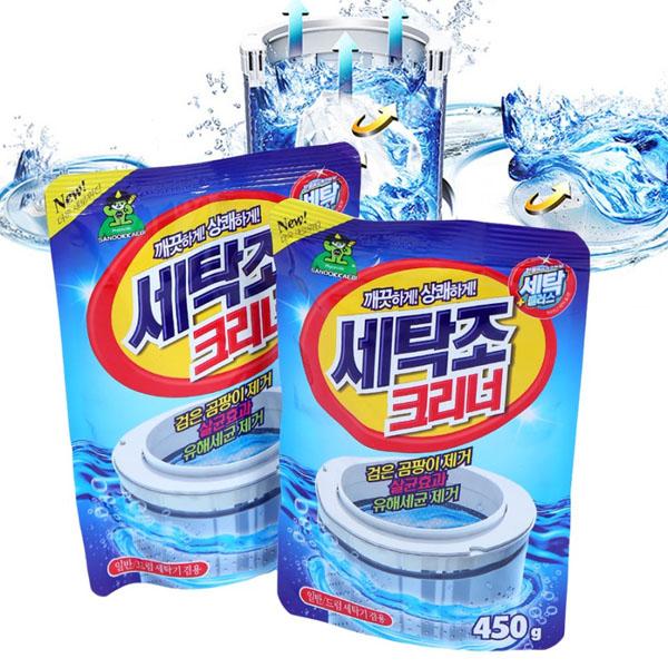 Bột vệ sinh lồng máy giặt Hàn Quốc