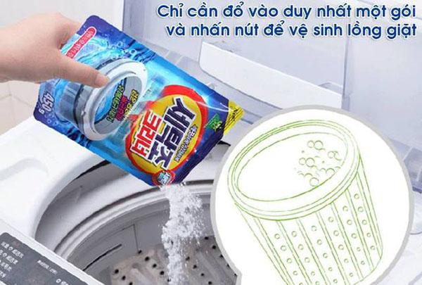 Bán buôn bột vệ sinh lồng máy giặt Hàn Quốc