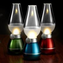 Cây đèn thần thổi là sáng tắt độc đáo