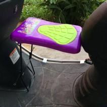 Ghế ngồi xe máy cho bé an toàn tiện lợi