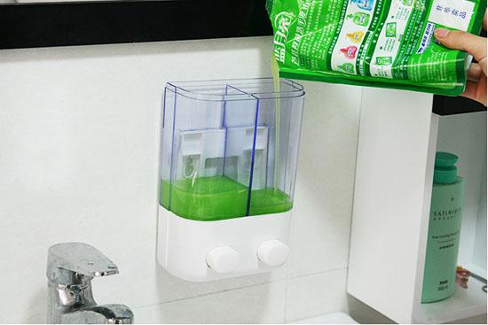 Bán sỉ hộp đựng nước rửa tay loại 2 ngăn tiện dụng