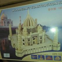 Mô hình lắp ghép gỗ 3d lâu đài 165 chi tiết