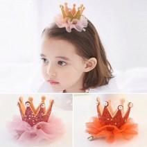Cài tóc vương miện công chúa cho bé