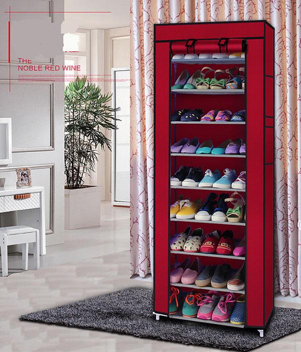 Bán sỉ tủ vải để giày dép 9 tầng cao cấp