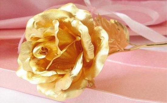 Bán buôn hoa hồng mạ vàng 24k cao cấp