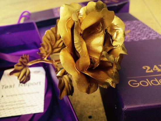 Bán sỉ hoa hồng mạ vàng 24k cao cấp