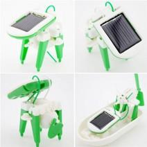 Bộ lắp ráp robot năng lượng mặt trời 6 in 1