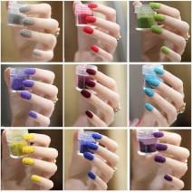 Bột nhung đắp móng tay , làm nail độc đáo