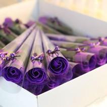 Hoa hồng sáp thơm vĩnh cửu 1 bông