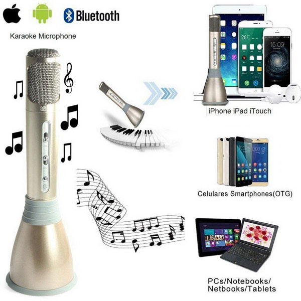 Bán sỉ micro karaoke kiêm loa bluetooth Tuxun K068