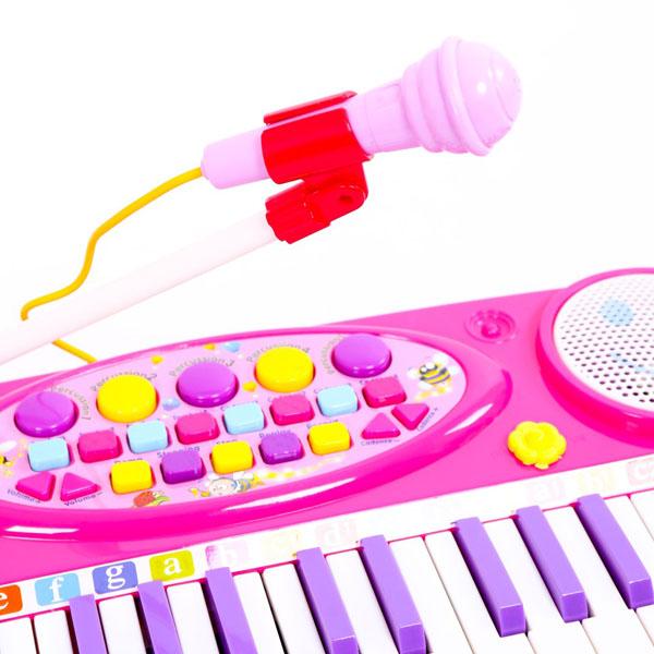 Đàn organ điện tử kèm micro cho bé