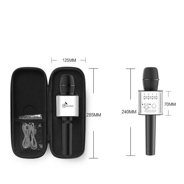 Micro bluetooth tích hợp loa Micgeek Q9