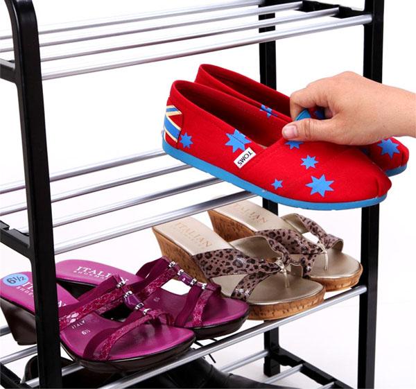 Bán buôn kệ để giày dép 4 tầng tiện dụng